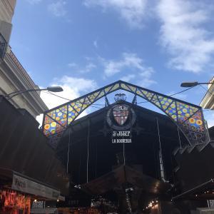 【スペイン旅行】バルセロナのマーケット,Mercado de La Boqueria