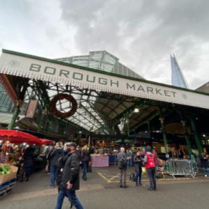 【イギリス生活】ロンドンの人気マーケット,Borough Market(バラマーケット)のクリスマス