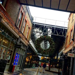 【ロンドン】Old Spitalfields Market(オールドスピタルフィールズマーケット)のクリスマス 🎄