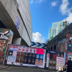 【ロンドン】東ロンドンのアートエリア、Brick Lane, Shoreditch(ブリックレーン・ショーディッチ)