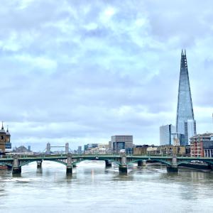 【ロンドン】景色が最高♪テムズ川に架る歩道橋, ミレニアム橋と、テートモダン周辺のお散歩