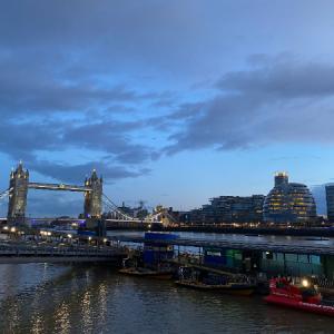 【ロンドン】夜のシティは本当にきれい✨テムズ川周辺のお散歩