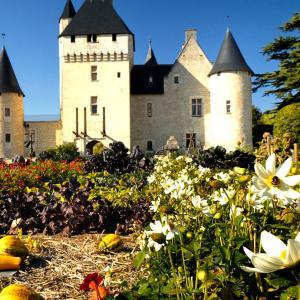 おとぎ話の庭ーリヴォー城