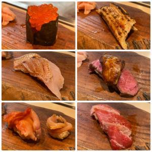 カウンターで握りたてのお寿司! 焼きのみつきで寿司祭り