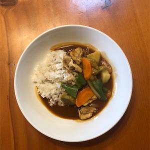 スープジャーでカレー弁当