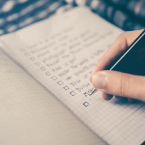 潜在意識の書き換えはノートに書く事で叶う?道端ジェシカも実践した「感謝ノート」とは何?
