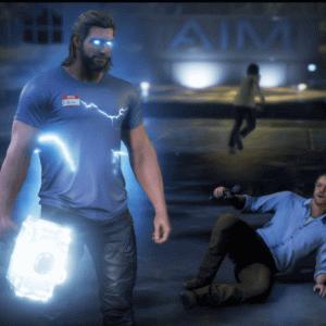 PS4マーベルアヴェンジャーズ攻略:ストーリー12【 取り調べの不安~かスターブースト計画】