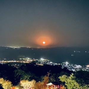 紅の月を観た1日 in 指宿ワーケーション