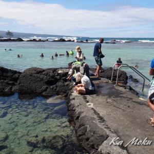 ハワイ島フォト日記 週末はさすがに人が戻ってきた?!