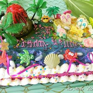 ハワイ島フォト日記 1歳の誕生日は人生最大のイベント!