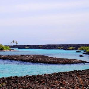 ハワイ島フォト日記 今日はビーチ紹介!行ったこと在るかい?KIHOLO BAY ‼