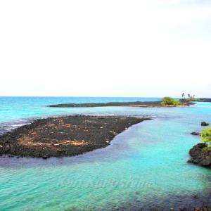 ハワイ島フォト日記 Kiholoのビーチは天国だよね