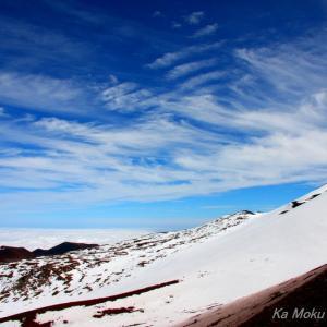 ハワイ島フォト日記 ハワイの雪山を紹介したら。。。。。