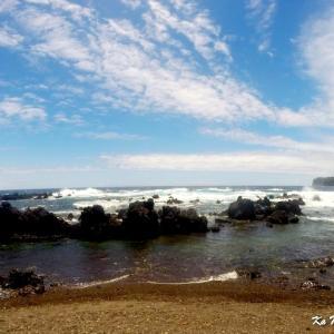 ハワイ島フォト日記 このビーチは穴場だよね、これもハワイ!