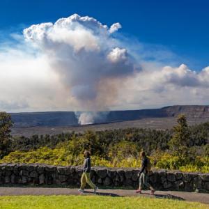 ハワイ島ニュース 日米首脳会談、コロナ、珊瑚、火山、消防署長、郵便局