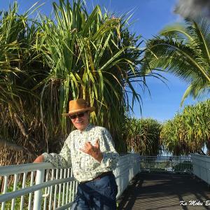 朝早く昨日のセミナーのロケ地の Moku Ola(ココナツアイランド)に行ってきたよ。