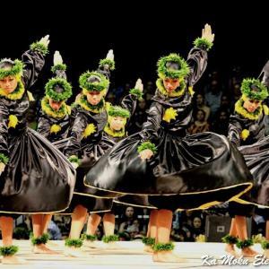 第55回大会メリーモナーク2018 迫力の古典フラKahiko!