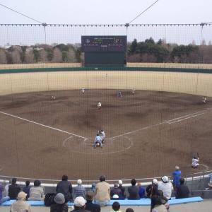 県立柏の葉公園野球場