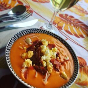 夏バテ予防にガスパチョではなくサルモレホ|スペイン料理レシピ