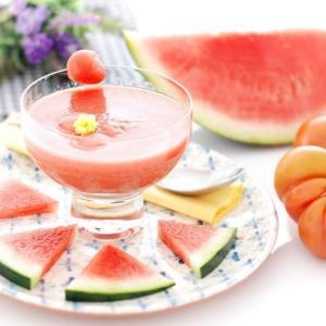 【スイカのガスパチョ】日焼け予防に効果的な食べ物