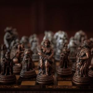 【チャトランガとシャトランジ】チェスの発祥と歴史 チェス駒の動きと英語名