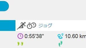 ジョグ 10km