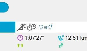 ジョグ 12km