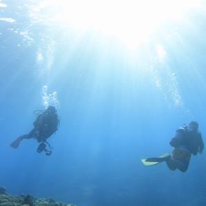 潜行・潜降とは?|ダイビングで水面から水中へ