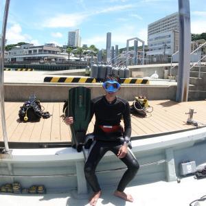 5mmのウェットスーツでダイビングをする水温はどれくらい?