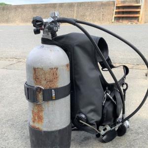 ダイビングBCDのタンクベルト(カムバンド)を軽量化【NDS】