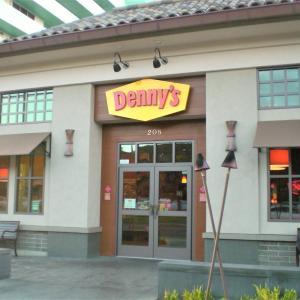 OPENしてすぐに行ってみた  Denny's クヒオ店