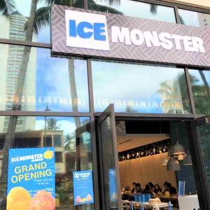 OPENしてすぐに行ってみた  ICE  MONSTER