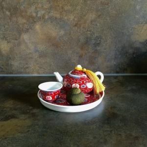 小さな蜜柑の中国茶