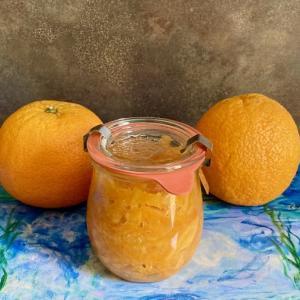 オレンジマーマレードとBBQ