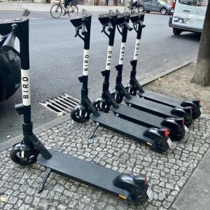 街の新しい交通手段