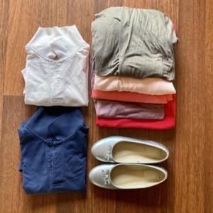 夏の衣類の断捨離