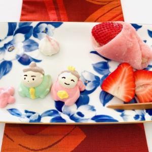 雛祭りの御茶菓子