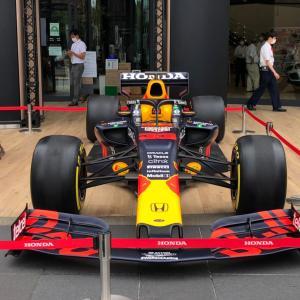 F1の優勝マシンが…2