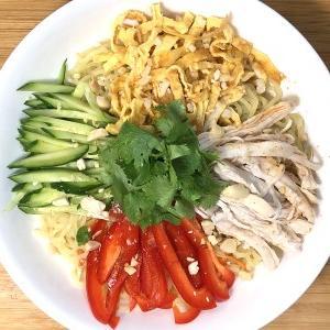 タイ風冷やし中華のレシピ