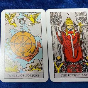 人事異動、悲惨 *2枚のカード物語*