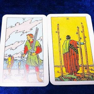 放り出すのは簡単すぎる! *2枚のカード物語*
