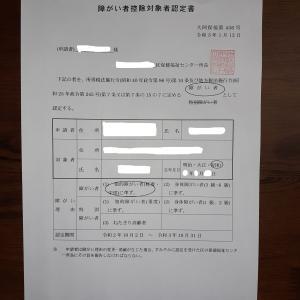 障害者手帳の申請