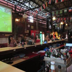 バンコク ナナのブリティシュパブ(ラグビーW杯)