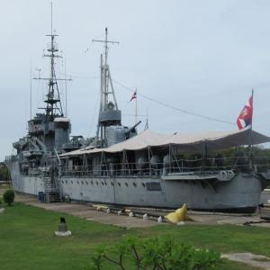 タイにある戦前の日本の艦船 メークロン号 プラジュンジョムクラオ要塞