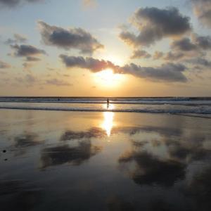 バリ島 クタビーチの風景
