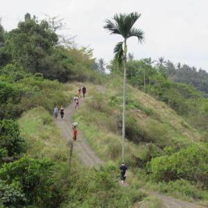 バリ島 ウブドのトレッキングコース