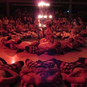 バリ島 ウブドで見たケチャダンス