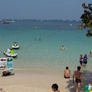 パタヤ ラン島でお奨めのサンワンビーチ