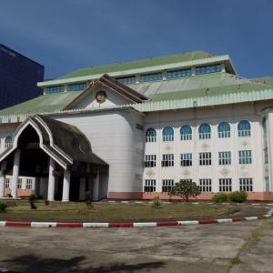 ヤンゴンにある麻薬撲滅博物館