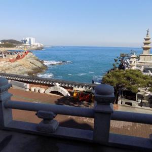 釜山 海東龍宮寺へ初詣